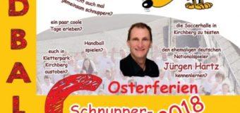 Erfolgreiches Handballschnuppercamp der JSG Hunsrück