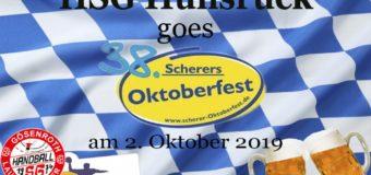 HSG Hunsrück goes Scherers Oktoberfest am 02.10.2019