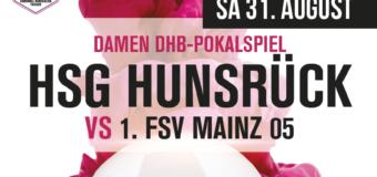 DHB Pokalspiel | HSG Hunsrück vs 1. FSV Mainz 05